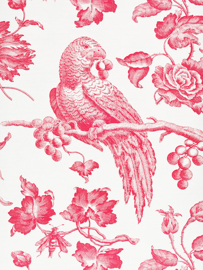 'Great Toile' linen by Bennison Fabrics