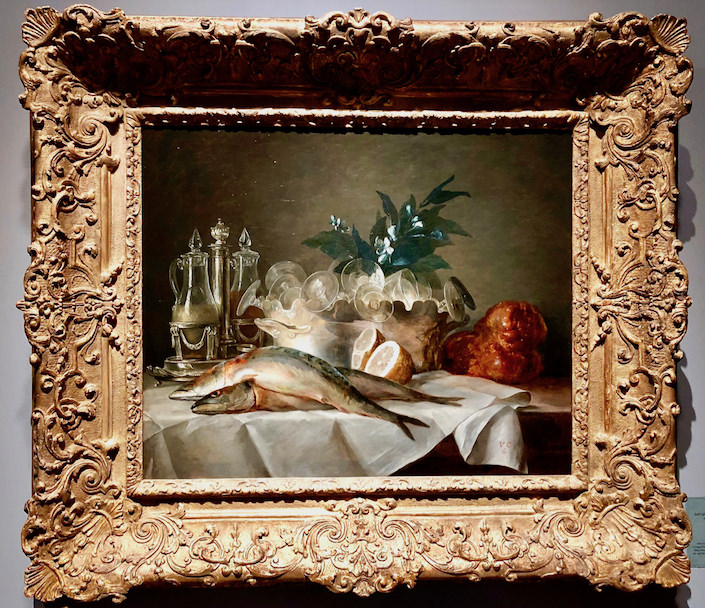 Anne Vallayer Coster still life from Wildenstein Gallery at TEFAf New York Fall 2018