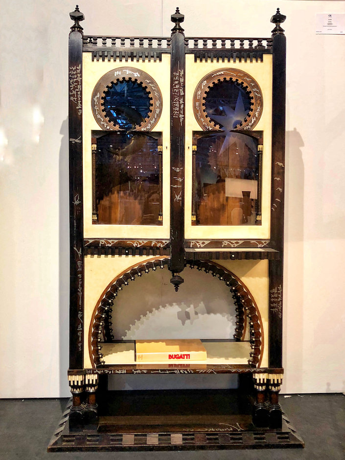 Bugatti cabinet at Guy Regal at San Franciso Fall Art and Antiques Show