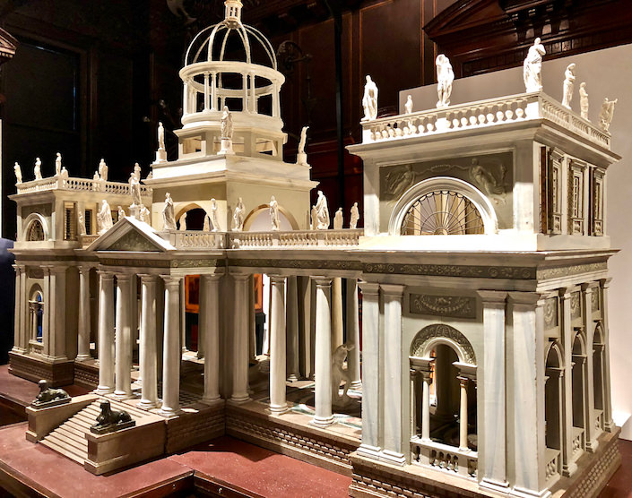 Burzio architectural model at TEFAF New York Fall 2018 show