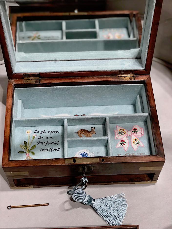 Jessica McCormack bespoke jewelry box
