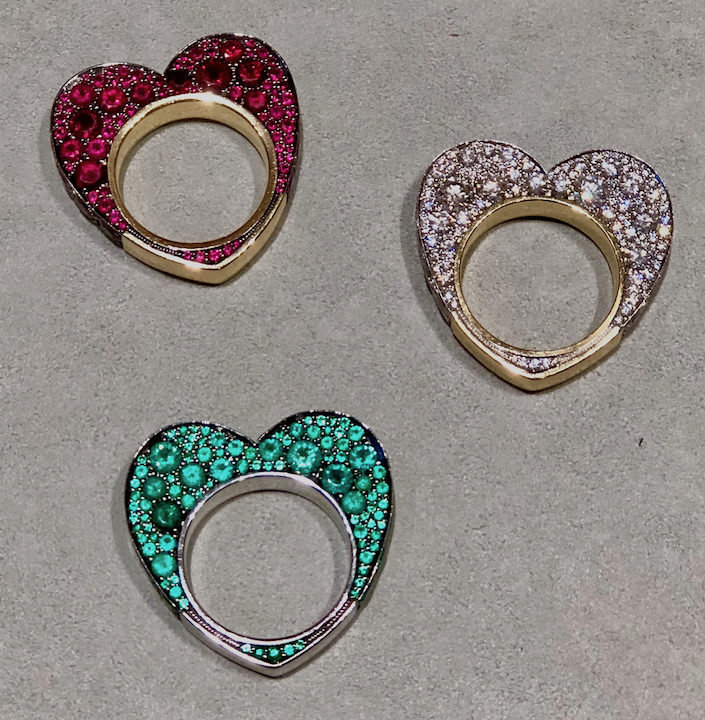 Jessica McCormack heart rings