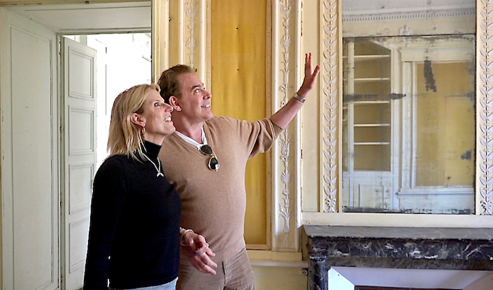 Susanna Salk and Timothy Corrigan