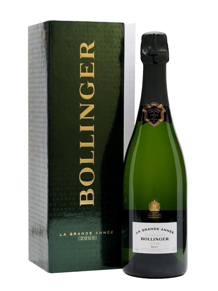 Bollinger La Grand Annee 2005 champagne
