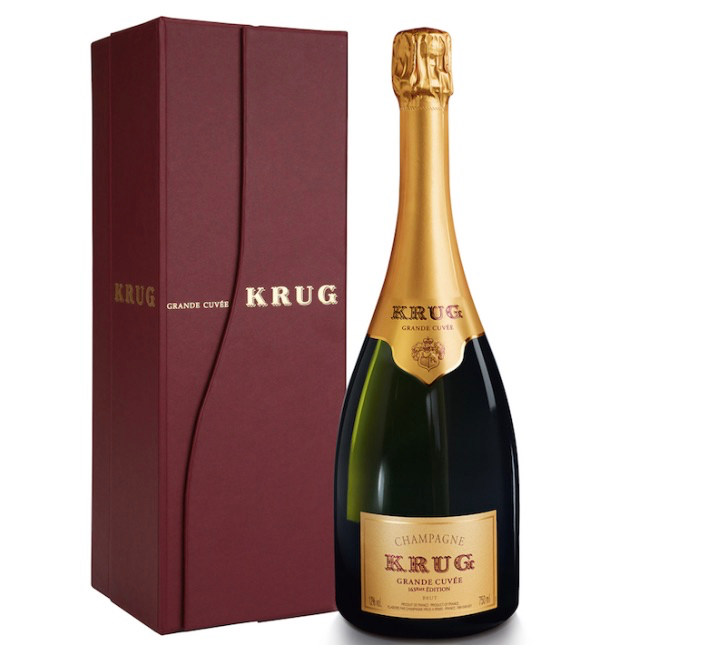 Krug Grand Cuvee via Quintessential Guide to Champagne 2018