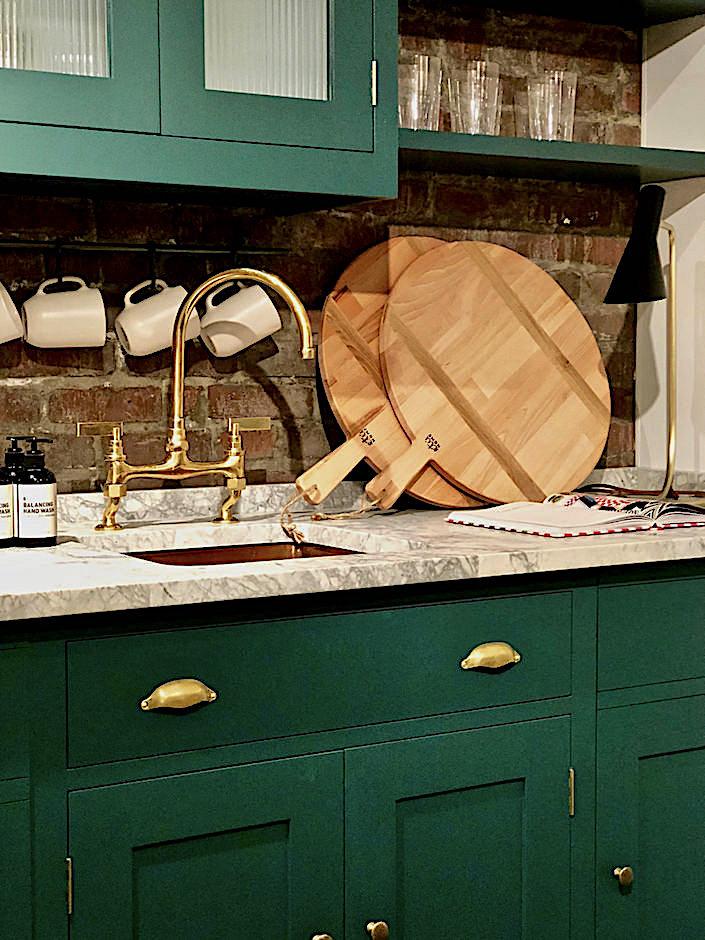 One Kings Lane Plain English kitchen detail