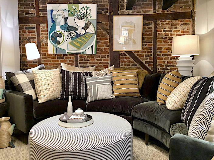 One Kings Lane Soho store sofa