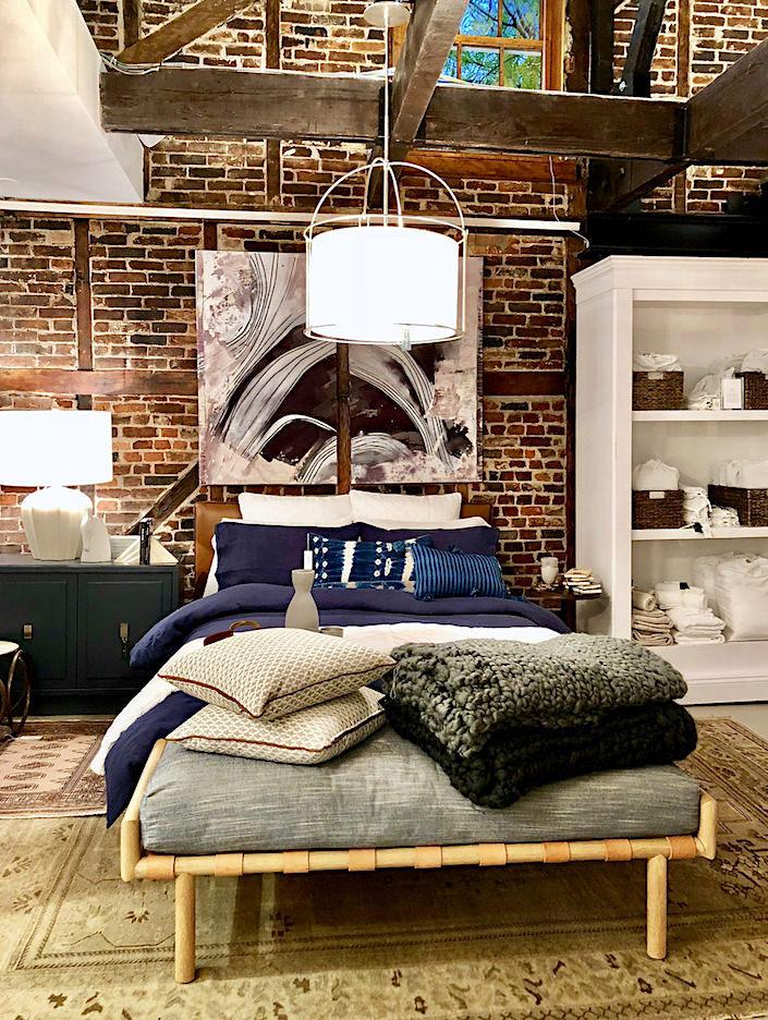 One Kings Soho bedroom
