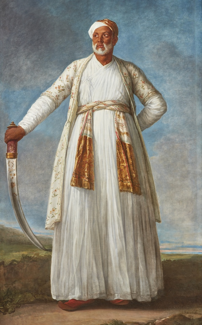 Elisabeth Louise Vigée Le Brun portrait of Muhammad Dervish Khan at Sotheby's