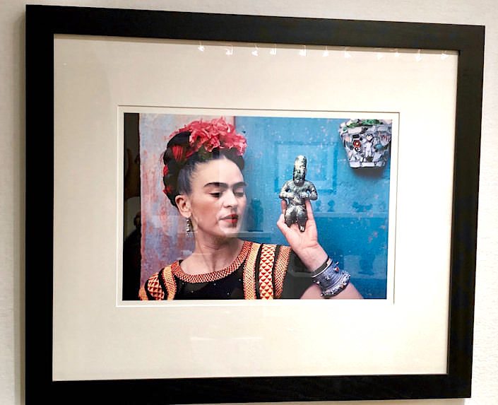 Frida Kahlo photo at Throckmorton Fine Art at The Winter Show