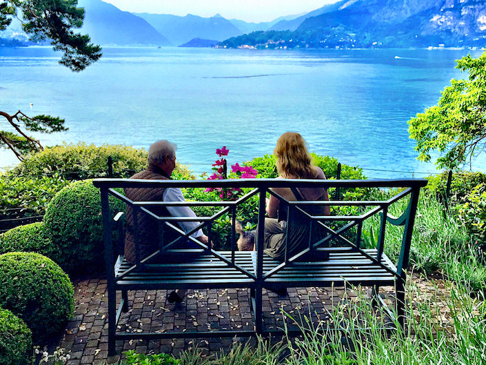 Romeo Sozzi and Susanna Salk on Lake Como via Quintessence