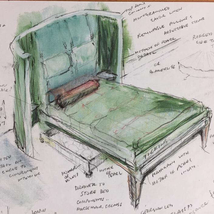 Savoir Beds for Ancien et Moderne 2019