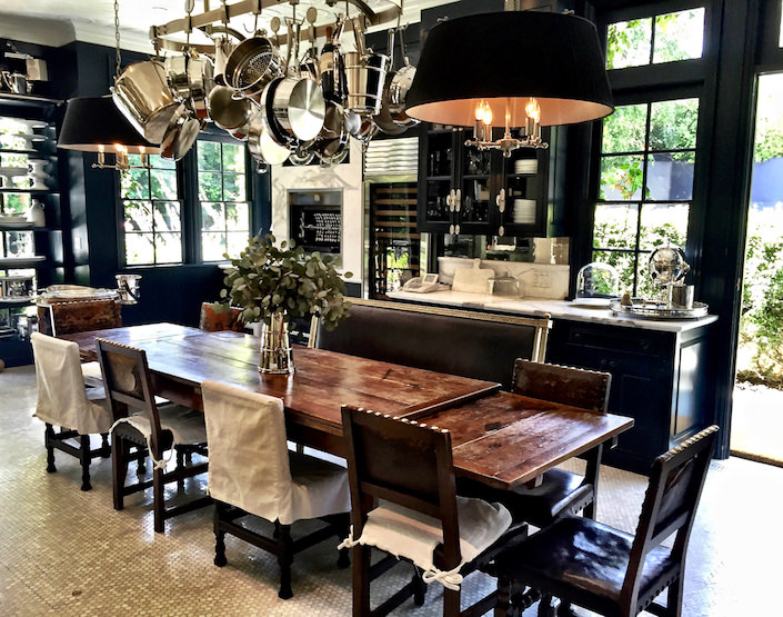 Windsor Smith kitchen via Quintessence