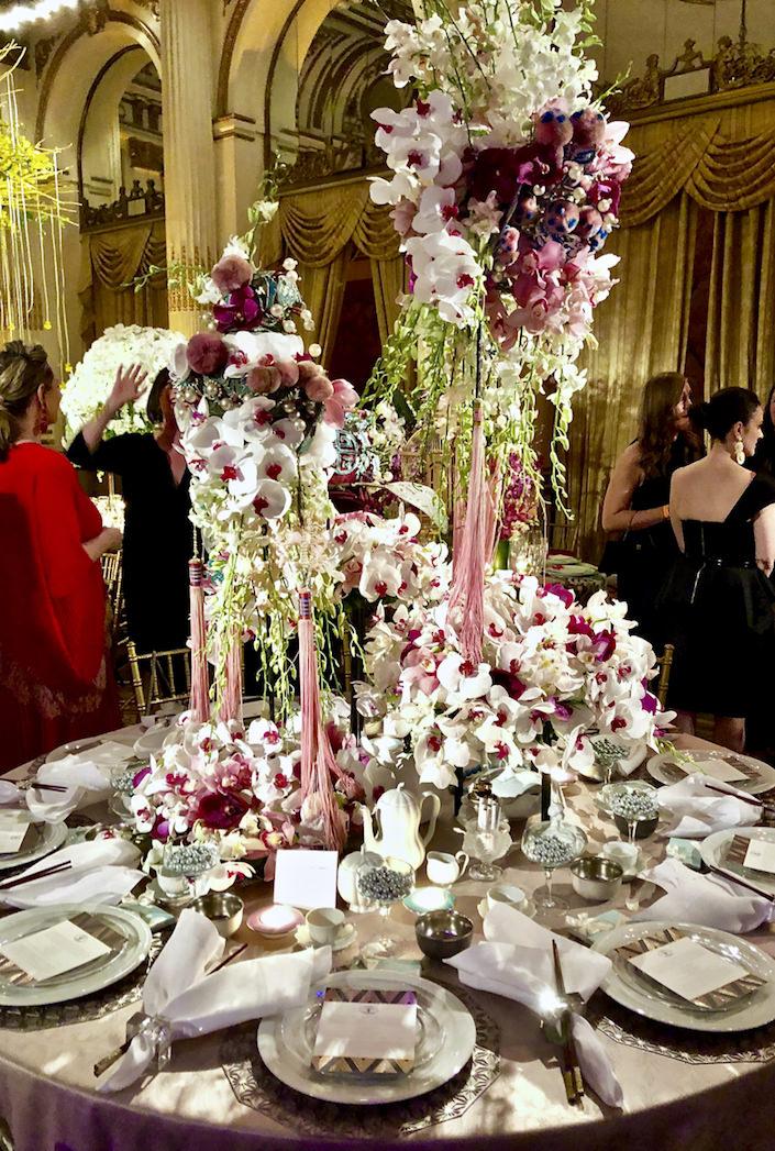 Eleish Van Breems NYBG 2019 Orchid Dinner