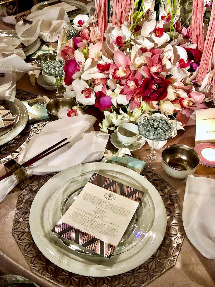 Eleish Van Breems detail NYBG 2019 Orchid Dinner
