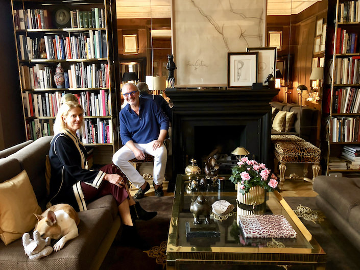 At Home in London with Paolo Moschino and Philip Vergeylen