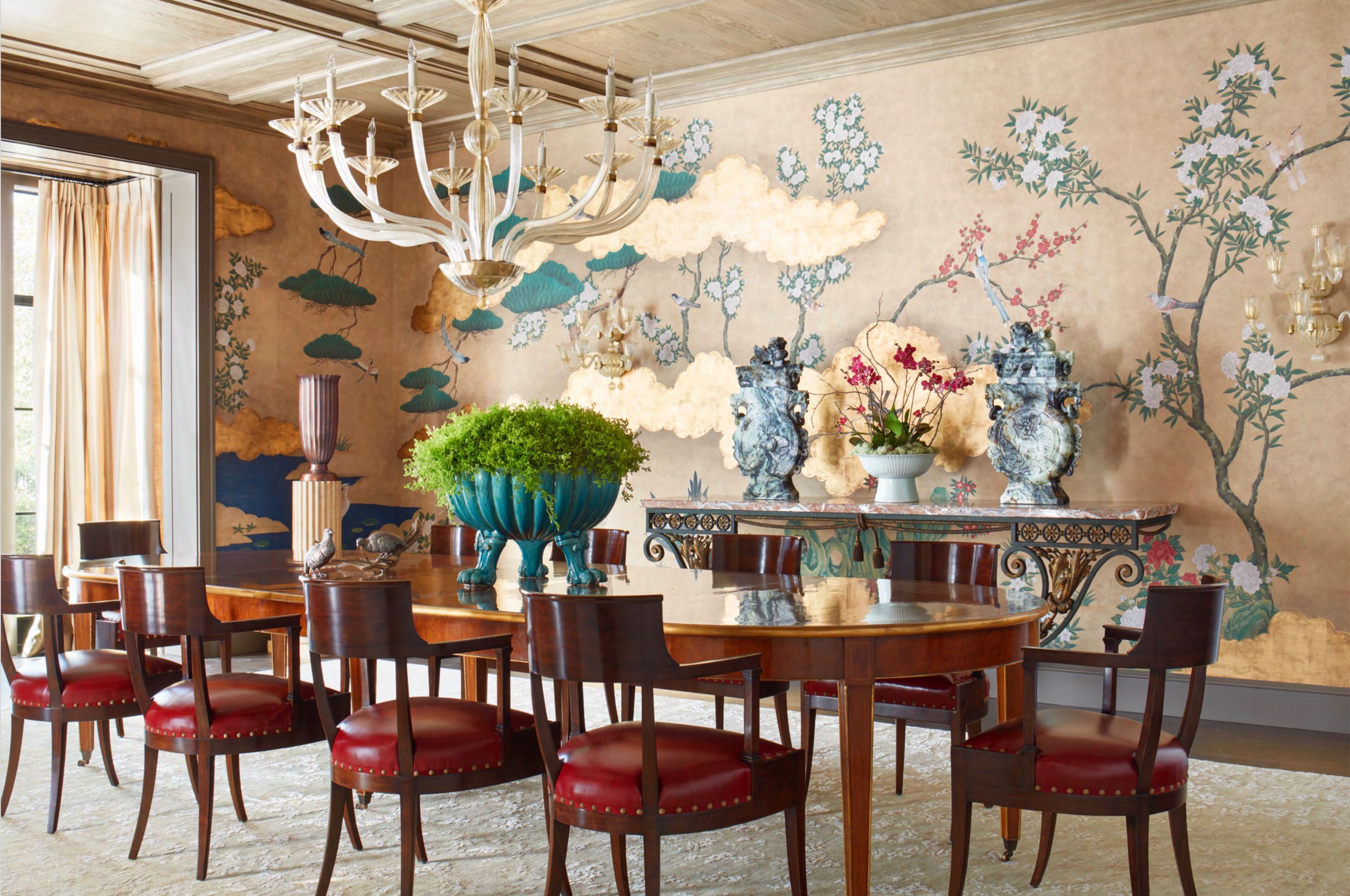 Madeline Stuart designed Los Angeles dining room, photo Trevor Tondro