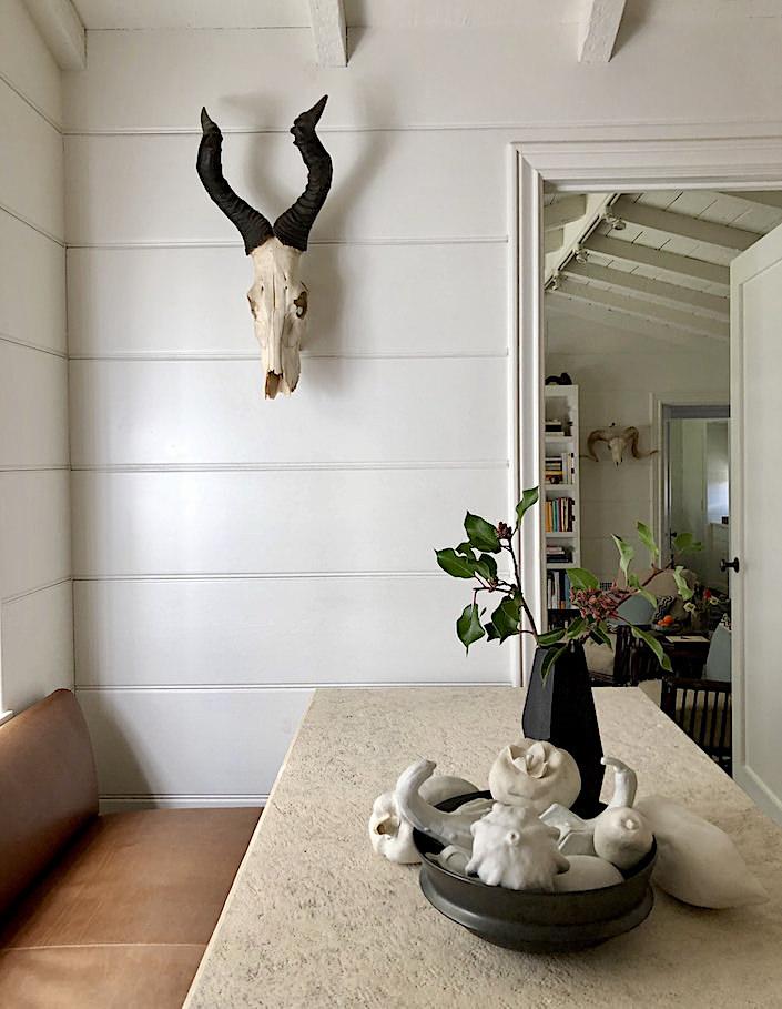 Madeline Stuart Santa Barbara dining room via Quintessence