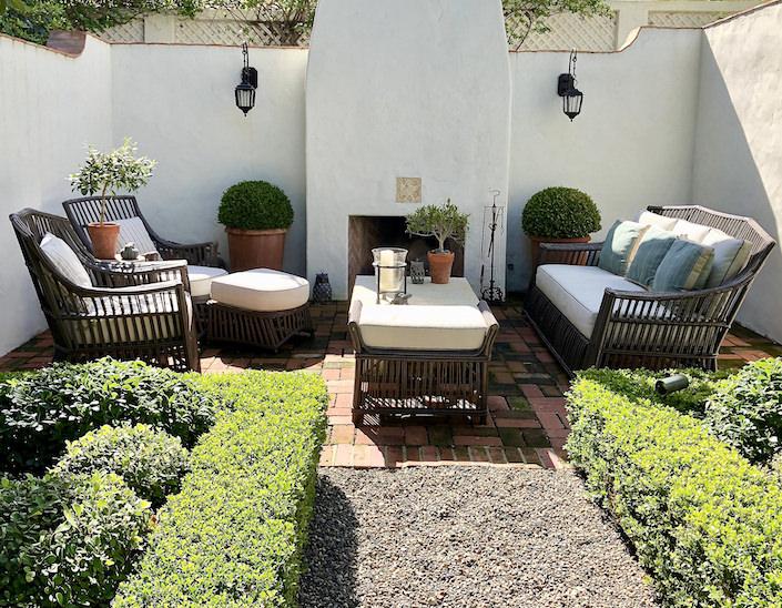 Madeline Stuart Santa Barbara garden, photo Stacey Bewkes