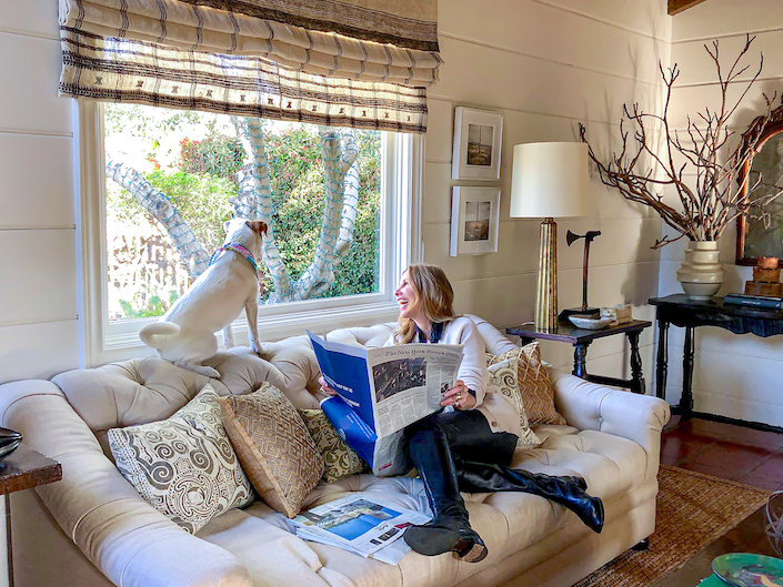 At Home in Santa Barbara with Madeline Stuart
