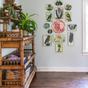 John Derian Picture Book Project at the home of Stacey Bewkes of Quintessence