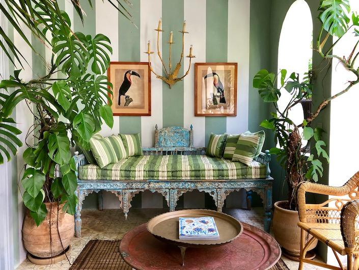 Nicolo Castellini Baldissera home in Tangier, Morocco via Quintessence