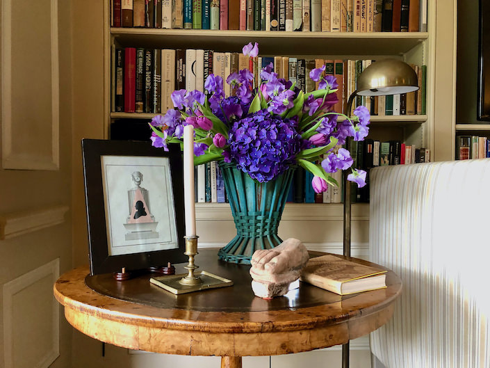 At Home with Suzanne Rheinstein via Quintessence