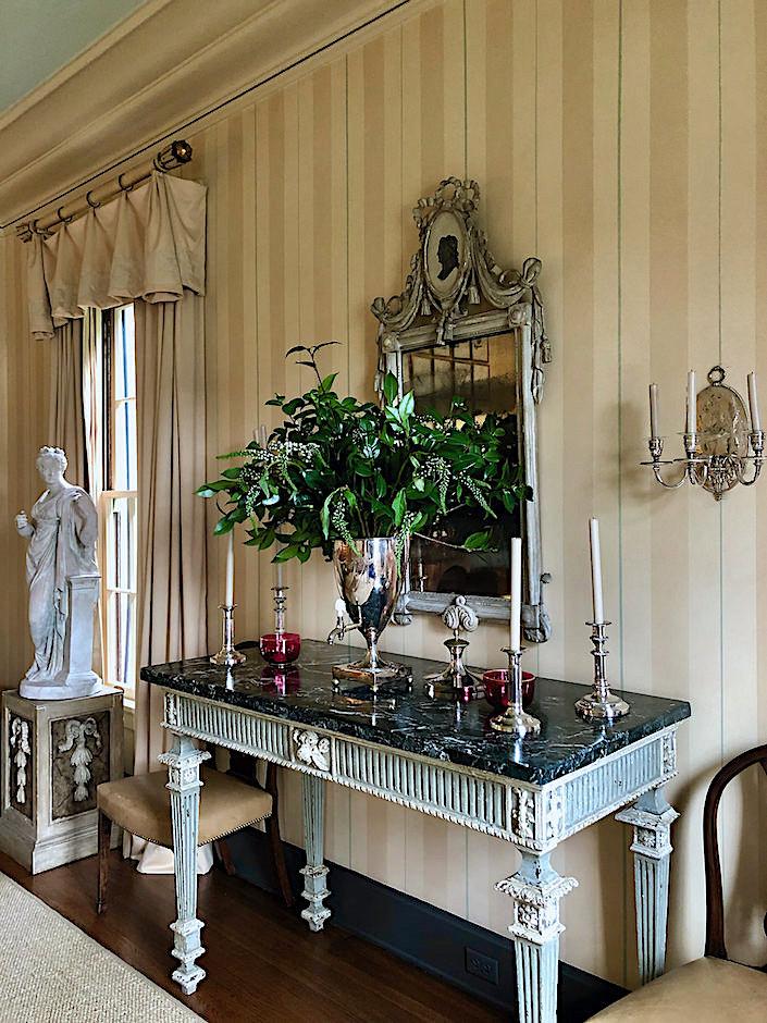 Suzanne Rheinstein dining room via Quintessence