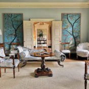 Suzanne Rheinstein living room via Quintessence