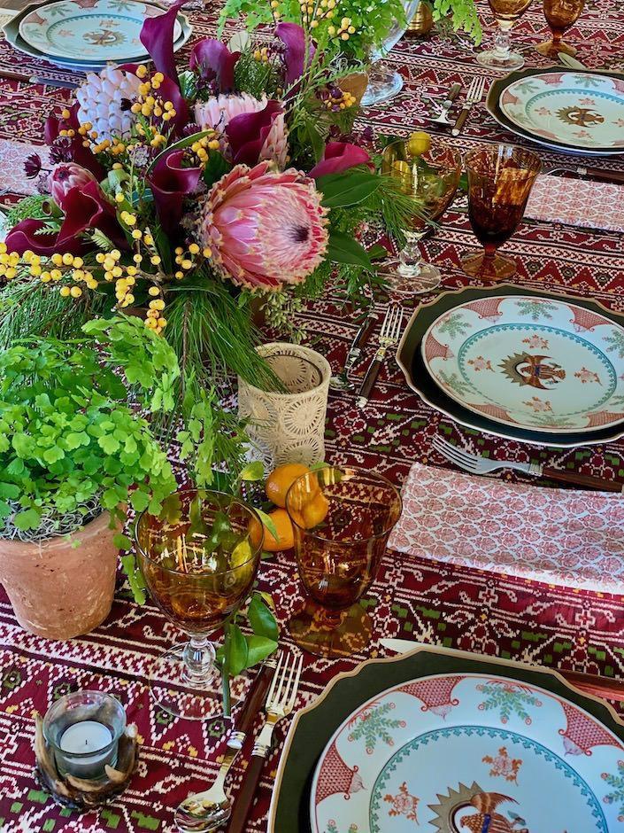Holiday table via Quintessence