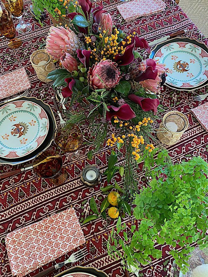 Quintessence Christmas table