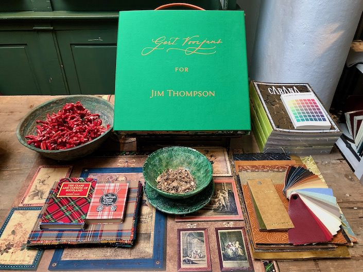 Gert Voorjan's collection for Jim Thompson via Quintessence