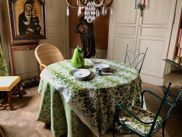 Gert Voorjan's dining room via Quintessence