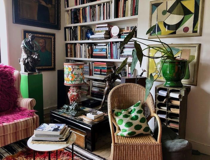 Gert Voorjans at home in Antwerp via Quintessence