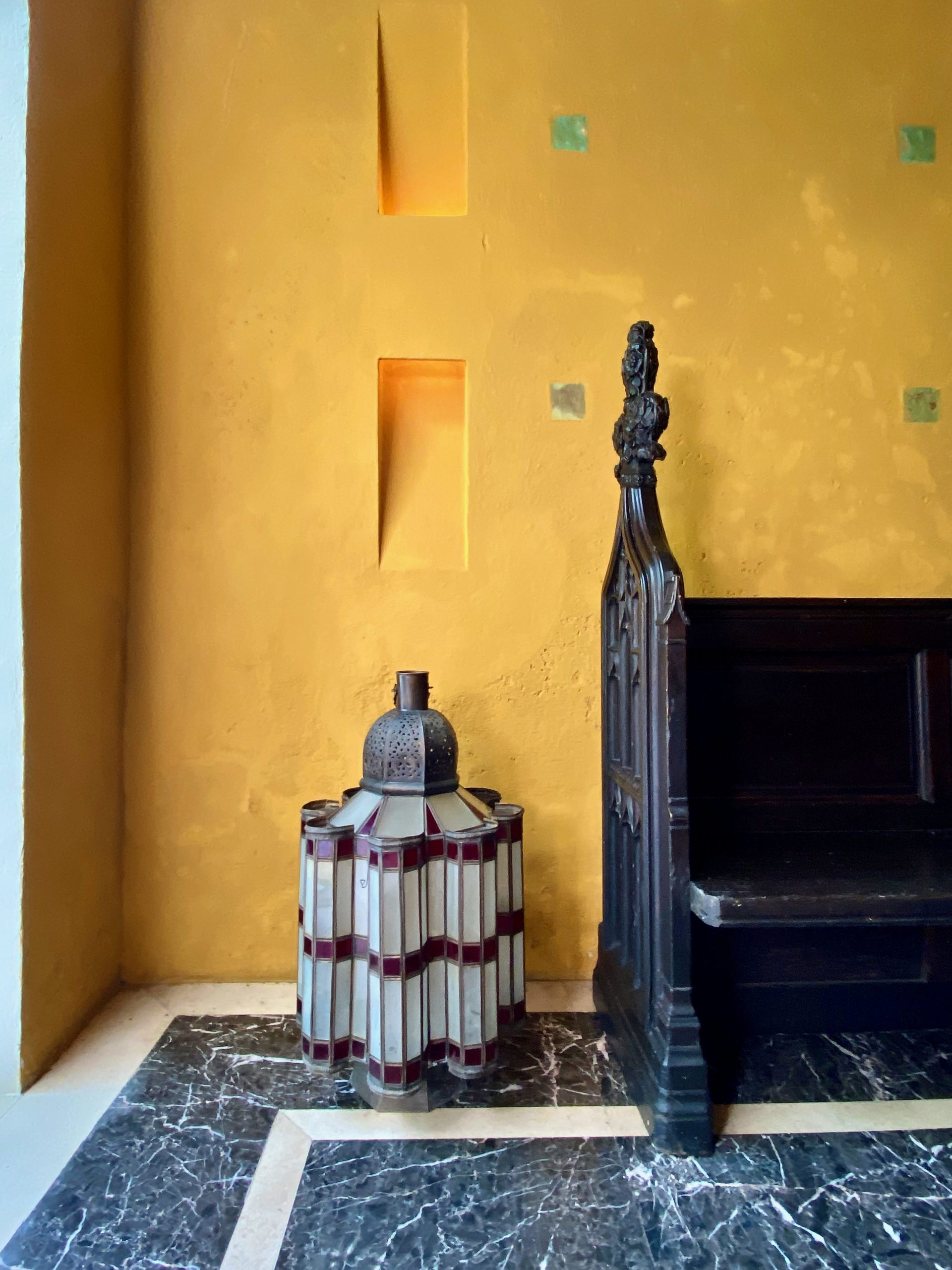 Richard Mishaan Cartagena entrance hall via Quintessence-1
