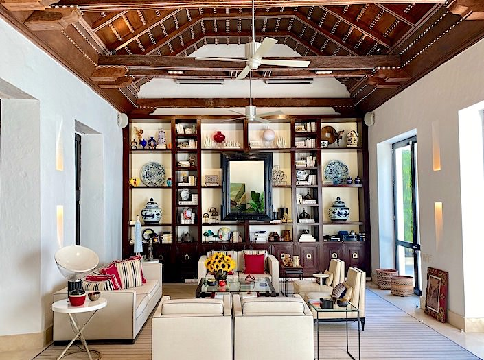 Richard Mishaan home in Cartagena via Quintessence