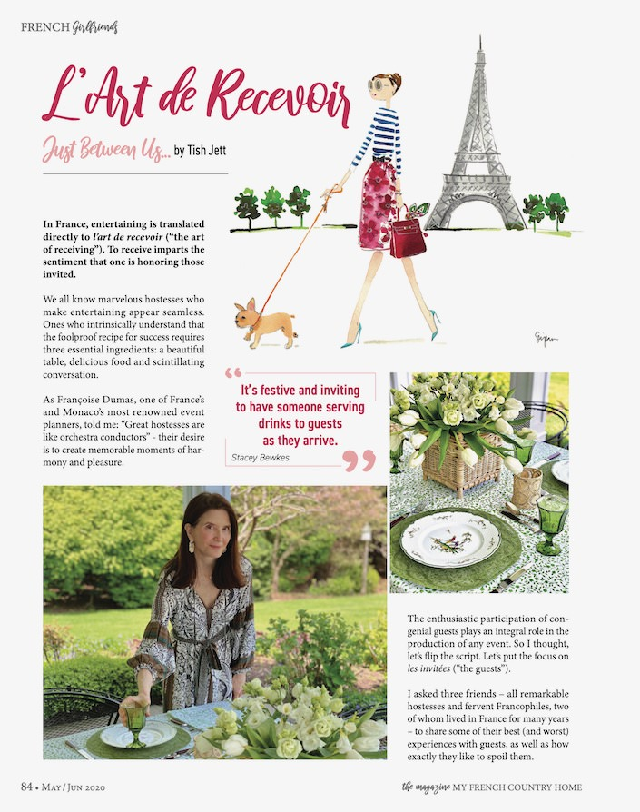 Artículo de entretenimiento 1 de la revista My French Country Home