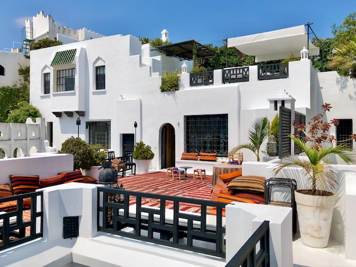 At home in Tangier with Jamie Creel and Marco Scarani-1