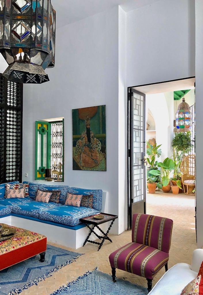 Garden room in Dar Zero via Quintessence