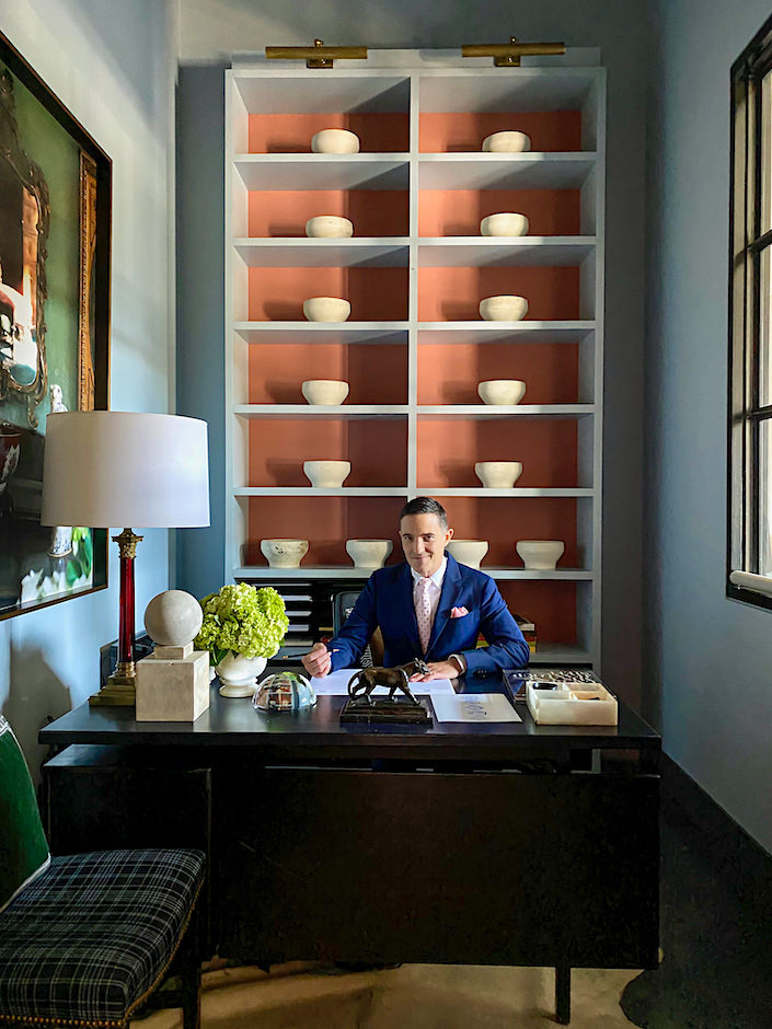 Michael Aiduss in his office via Quintessence