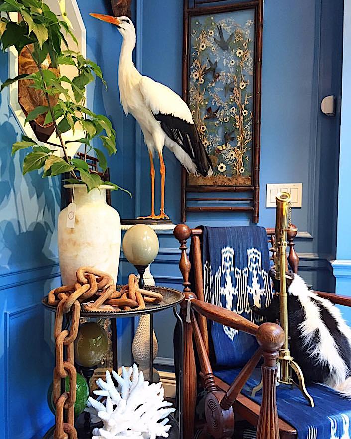 Creel and Gow window showcase