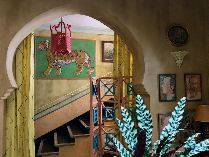 At home in Tangier with Franco di Biasi