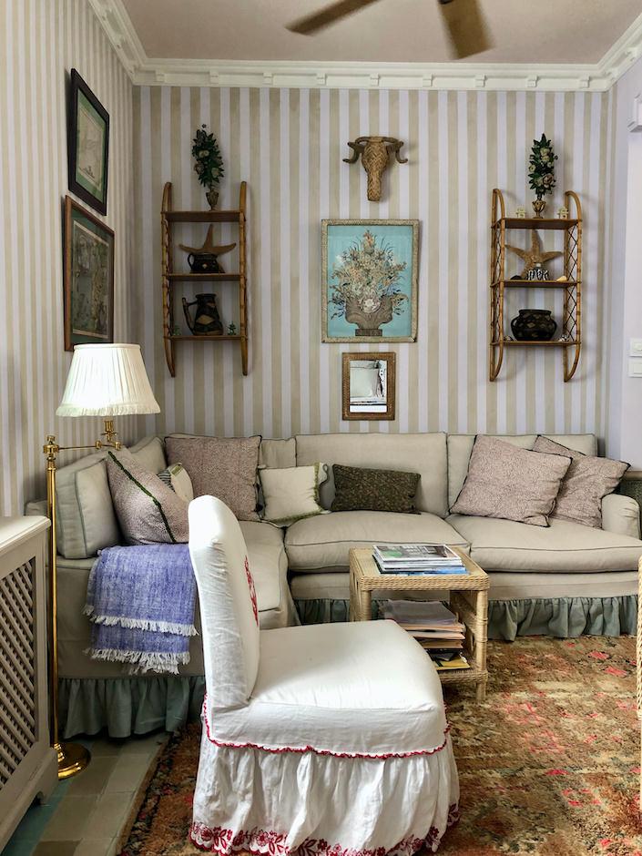 Frank de Biasi and Gene Meyer Tangier bedroom