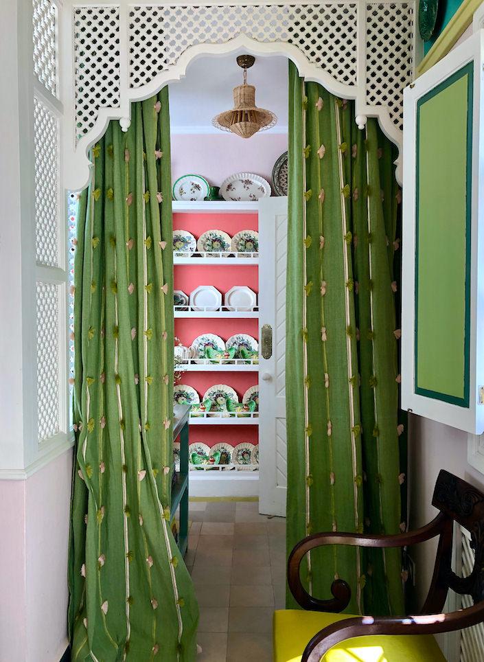 pantry in the house of Frank de Biasi Tangier