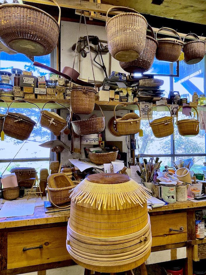 Nantucket Lightship Basket workshop