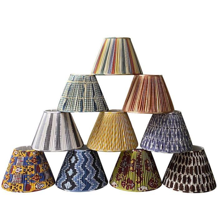 KRB Ikat-Lampshades-