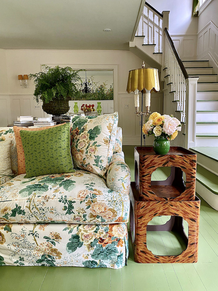Kate Rheinstein Brodsky Hamptons living room