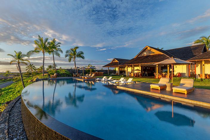 Luxury Portfolio Hawaiian compound via Quintessence
