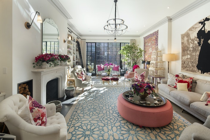 Luxury Portfolio NYC townhouse via Quintessence