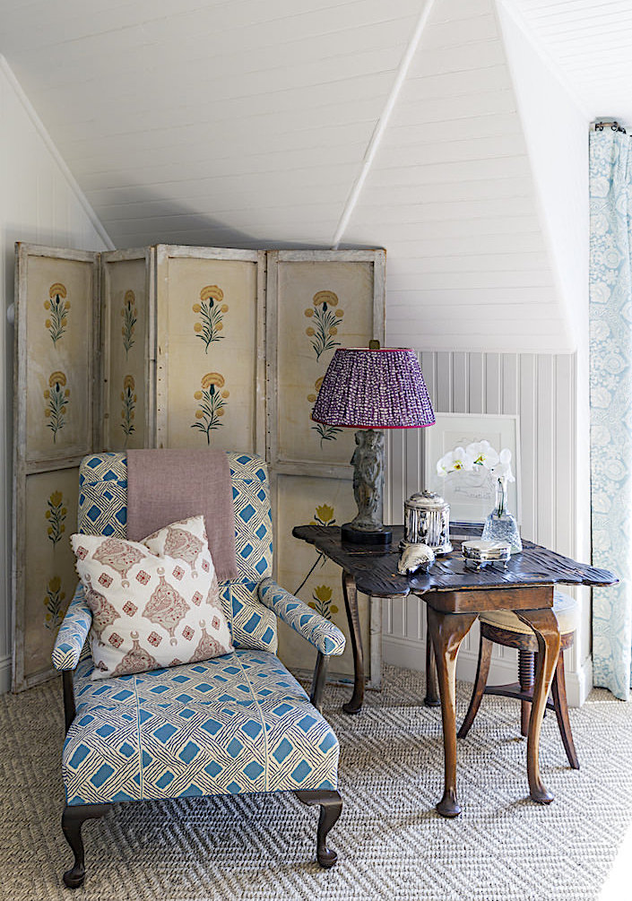 Charlotte Barnes bedroom corner